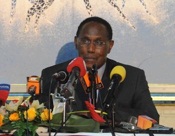 Джордж Саитоти , министр внутренней безопасности Кении. Фото: SIMON MAINA/AFP/Getty Images