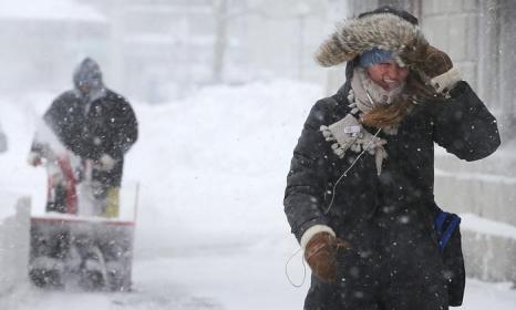Стихия в Новой Англии. Фото: Mario Tama/Getty Images