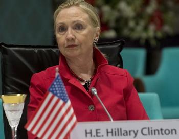 Государственный секретарь США, Хилари Клинтон. Фото: SAUL LOEB/AFP/GettyImages