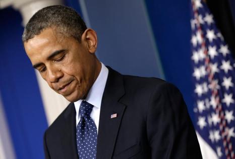 Барак Обама выступил перед нацией после теракта в Бостоне. Фото: Win McNamee / Getty Images