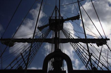 Точная копия галеона 16 века открылась посетителям к 500-летию Флориды. Фото: Joe Raedle / Getty Images