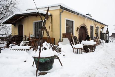 Кузница братьев Шмитбергеров в Мольне, Австрия, 21 января 2013 года. Фото: Mathias Kniepeiss/Getty Images