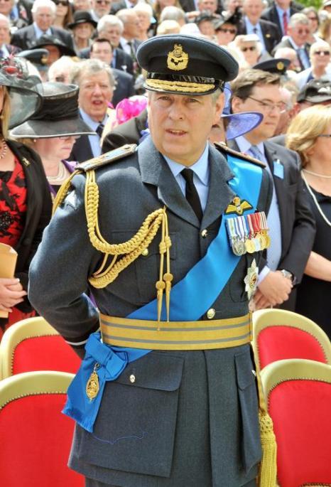 Принц Эндрю, Герцог Йоркский принял участие в официальной церемонии открытия мемориала бомбардировочной авиации королевой Елизаветой II в Лондоне, Англия. Фото: John Stillwell - WPA Pool/Getty Images