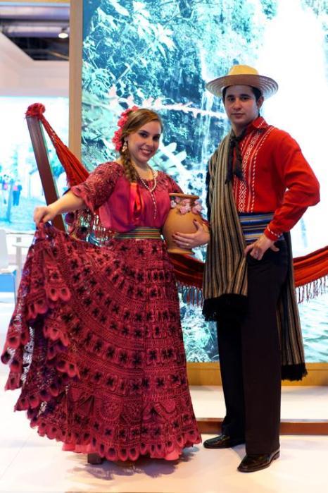 Парагвайский стенд на международной выставке туризма FITUR, Испания, 30 января 2013 года. Фото: Carlos Alvarez / Getty Images