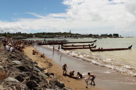 Жители Новой Зеландии готовятся отметить День Вайтанги. Фото: Phil Walter/Getty Images