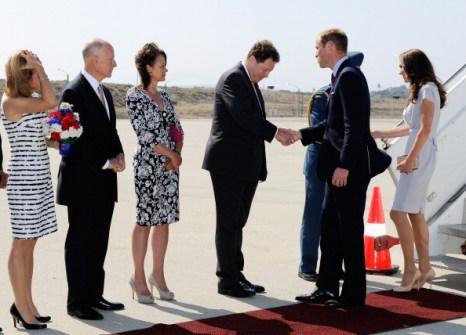 Фоторепортаж о пребывании герцога и герцогини Кембриджских в Калифорнии. Флто: Kevork Djansezian/Getty Images