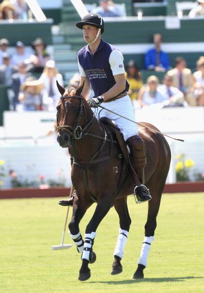 Герцог Кембриджский победил в игре в поло. Фото: Ian Vogler-Pool/Getty Images