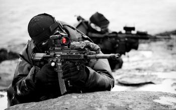 В Сирии действуют неизвестные снайперы с оружием последнего поколения. Фото с oboi.ws
