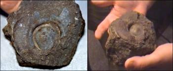 Заклёпки, обнаруженные экспедицией Уайта. Фото: mail.ru