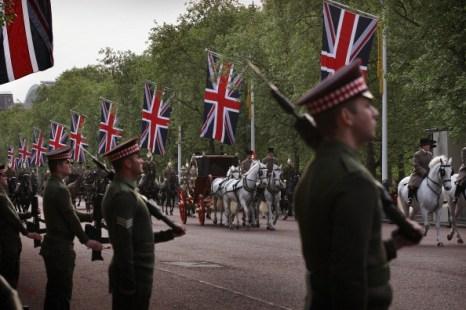 Генеральная репетиция свадьбы принца Уильяма и Кейт Миддлтон. Фото: Peter Macdiarmid, Christopher Furlong/Getty Images
