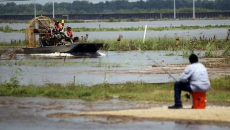 Фотообзор о затоплении в штате Луизиана в долине реки Миссисипи. Фото: Mario Tama/Getty Images