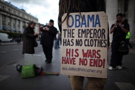 Фоторепортаж о подготовке к визиту президента США Барака Обамы в Ирландию. Фото: Peter Macdiarmid/Getty Images