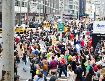 Уже с середины сентября в Нью-Йорке проходит акция