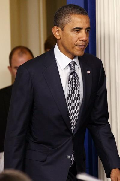 4. Самые влиятельные личности из списка Forbes. Президент США Барак Обама. Фото: Win McNamee/Getty Images