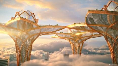 Проект City in the Sky. Фото представлено автором проекта Цветаном Тошковым.
