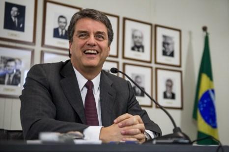 Новым руководителем ВТО стал представитель Бразилии Роберт Азеведо. Фото: FABRICE COFFRINI/AFP/Getty Images