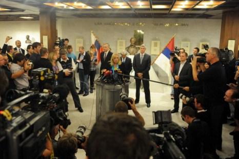 Словакии удалось одним выстрелом убить двух зайцев. SAMUEL KUBANI/AFP/Getty Images