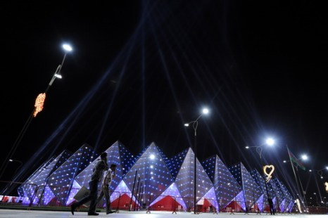 Концертный зал Baku Crystal Hall. Фото: VANO SHLAMOV/AFP/GettyImages
