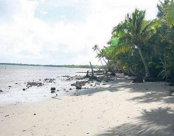 Обманчивая идиллия на острове Фиджи. Фото: Der Tagesspiegel