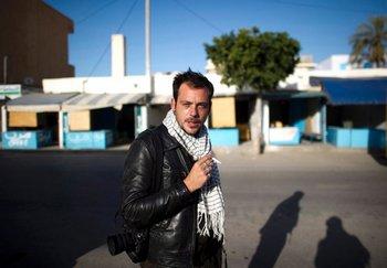 Реми Оклик, военный фоторепортер из Франции. Фото: Фото: spiegel.de