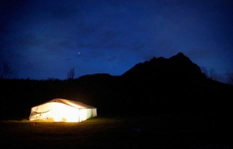 Деревня Бюгараш у подножья Пиренеев готовится к пророчеству Майя 20 декабря 2012 г. Фото: Patrick Aventurier/Getty Images