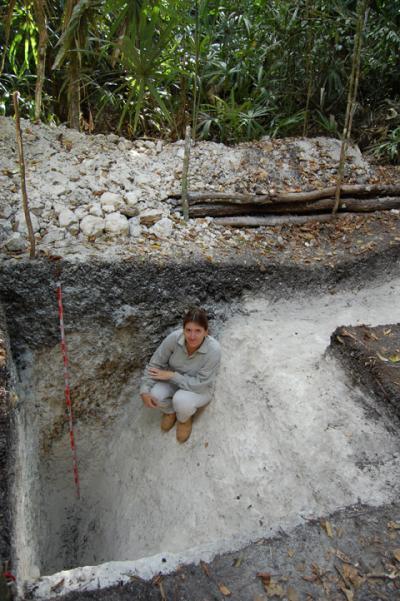 Один из каналов, выстроенных майя. Фото: University of Cincinnati researchers