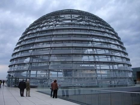 Купол Рейхстага в Берлине. Фото: pixabay.com
