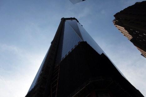 Здание «Башня Свободы» в Нью-Йорке, строящееся на месте разрушенных башен-близнецов. Фоторепортаж. Фото: Mario Tama/Getty Images