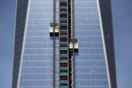 Строящийся небоскрёб «Башня Свободы» в Нью-Йорке. Фоторепортаж. Фото: Mario Tama/Getty Images