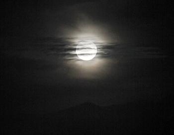 Жители Земли в эти выходные смогут увидеть супер-Луну и звёздный дождь. Фото: DESIREE MARTIN / AFP / Getty Images