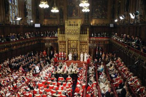 Открытие сессии парламента в Вестминстерском дворце во время открытия сессии парламента. Фоторепортаж. Фото:  Leon Neal - WPA Pool/Getty Images