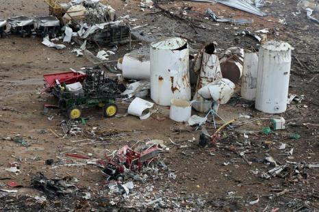 Власти заявили о 14 погибших в результате взрыва в Техасе. Фото: Chip Somodevilla / Getty Image