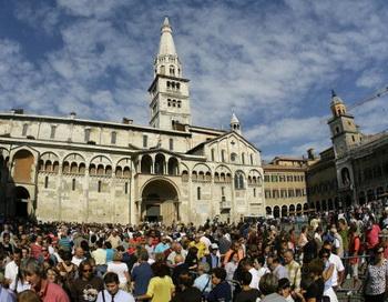 Италия, Модена. Фото: GIUSEPPE CACACE/AFP/Getty Images
