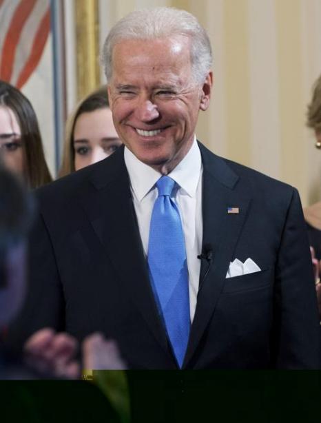 Вице-президент США Джозеф Байден на церемонии присяги 20 января 2013 года, Вашингтон. Фото: Michael Reynolds-Pool/Getty Images