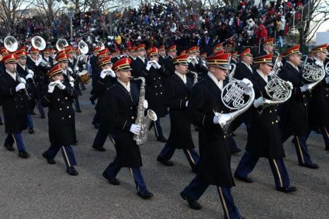 Иннаугурационный парад в Вашингтоне, США, 21 января 2013 года. Фото: Justin Sullivan / Getty Images