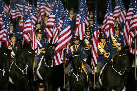 Иннаугурационный парад в Вашингтоне, США, 21 января 2013 года. Фото: Mark Wilson / Getty Images