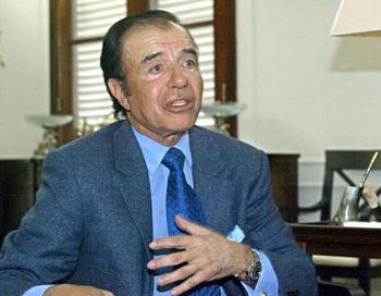 Бывший президент Аргентины Карлос Менем. Фото: ALI BURAFI/AFP/Getty Images