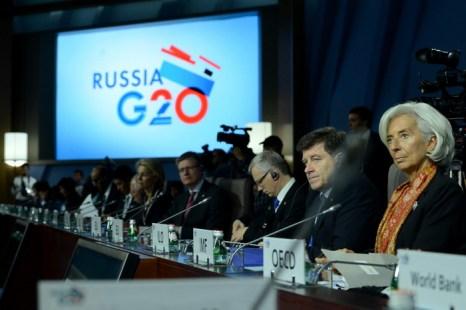 Встреча G20 в Москве. Фото: KIRILL KUDRYAVTSEV/AFP/Getty Images