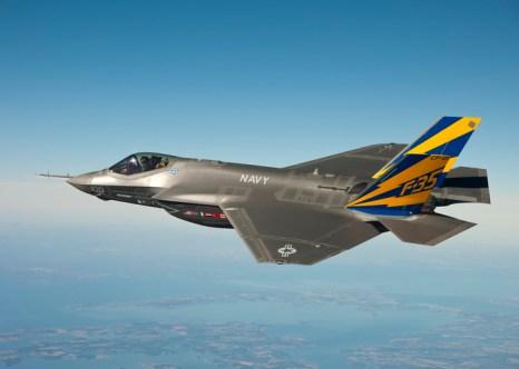 В США выпустили сотый истребителей F-35. Фото: U.S. Navy photo courtesy Lockheed Martin via Getty Images