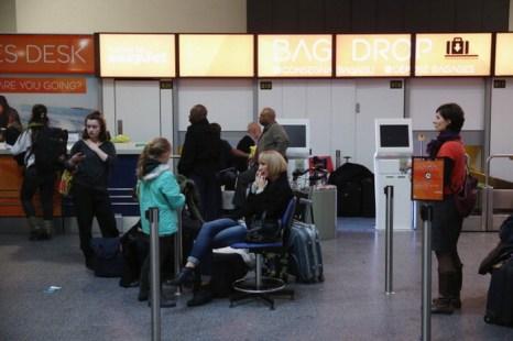 Аэропорт Лондона. Туристки из Румынии задержаны за контрабанду игуан. Фото: Oli Scarff/Getty Images