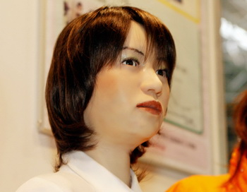 Японский робот успешно сдал экзамен в вуз. Фото: YOSHIKAZU TSUNO/AFP/Getty Images