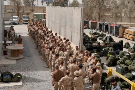 Кабул канадские офицеры и солдаты покинут до конца года, другая часть военного состава — в январе. Остальные 150 инструкторов покинут Афганистан в конце марта. Фото: ROMEO GACAD/AFP/Getty Images