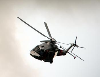 Вертолёт AW101 Merlin итальянской компании AgustaWestland. Фото: ADRIAN DENNIS/AFP/Getty Images