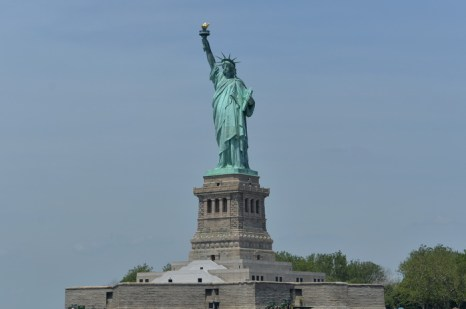 Статуя Свободы. Фото: STAN HONDA/AFP/Getty Images