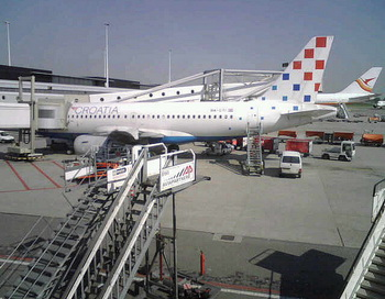 Аэропорт Загреба. Фото: Patrick de Laive/flickr.com