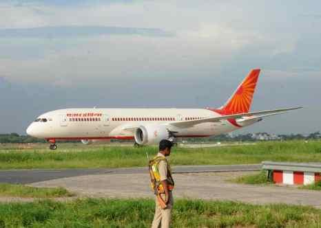 «Лайнер мечты»,Boeing 787 Dreamliner авиакомпании Air India. Фото: RAVEENDRAN/AFP/GettyImages