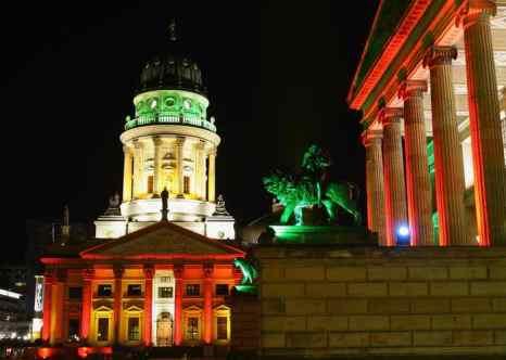 В Берлине проходит самый красочный фестиваль – фестиваль света, который стал традиционным с 2005 года. Фото: Andreas Rentz/Getty Images