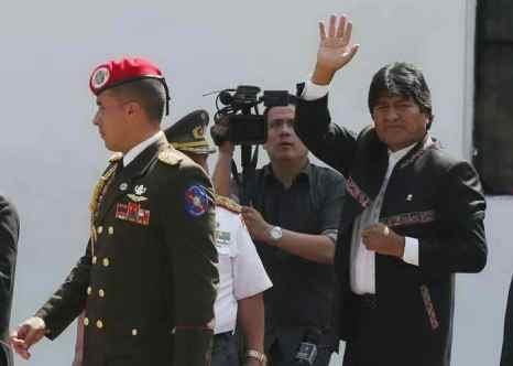 Президент Боливии Эво Моралис. Фото: Mario Tama/Getty Images