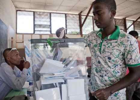 Мадагаскар. Президентские выборы. Фото: RIJASOLO/AFP/Getty Images