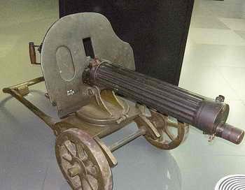 Пулемёт «Максим». Фото: Tomac Quine/flickr.com